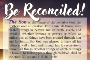 Be Reconciled